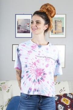 """T-Shirt """"Io con te ho imparato a dire ti voglio bene"""" - Donna"""