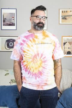 """T-Shirt """"Io con te ho imparato a dire ti voglio bene"""" - Uomo"""