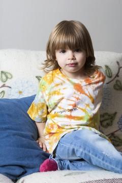 """T-Shirt """"Io con te ho imparato a dire ti voglio bene"""" - Bambino"""